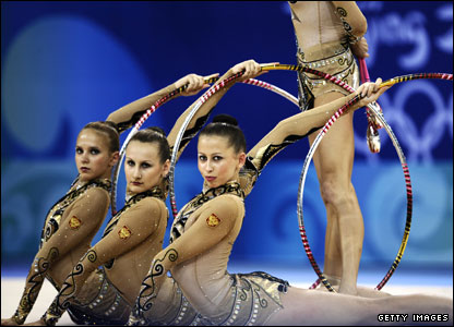 Team rhythmic gymnastics