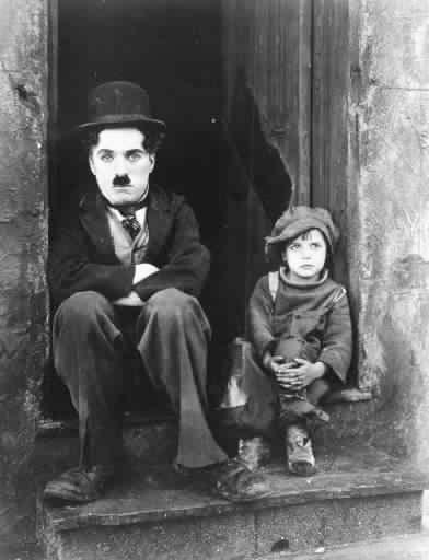 Chaplin is on the left
