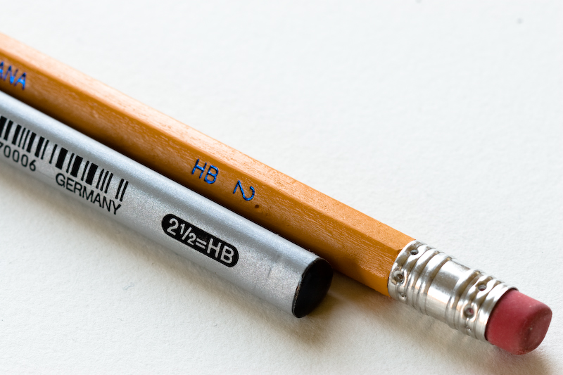 The metal band which connects the eraser to the pencil is a ferrule