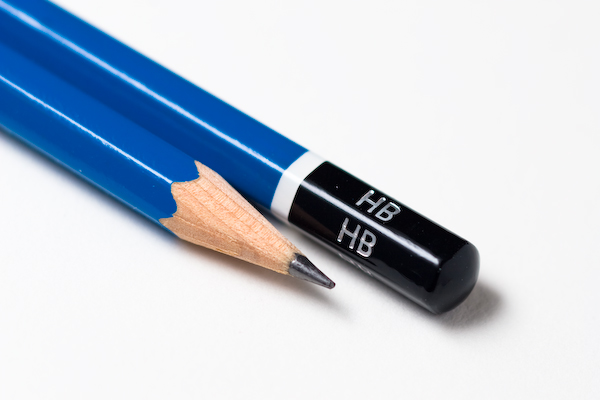 Where are blue pencils popular?