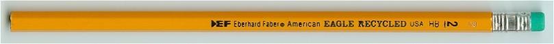 a classic American pencil