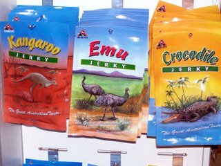 And how about emu or crocodile?