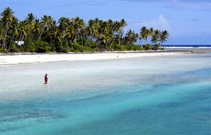 The rush hour in Kiribati