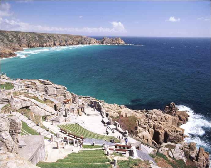 Minack simply means rocky