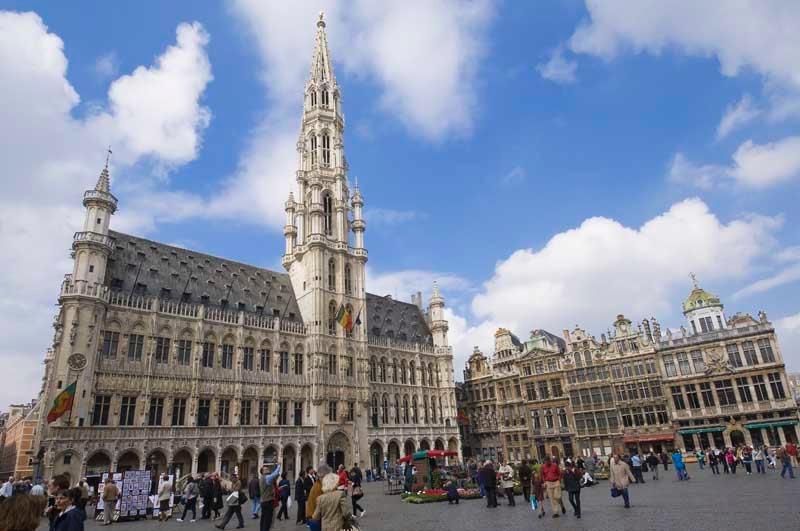 In the centre of Brussels, Belgium