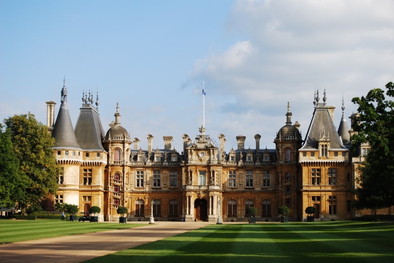 Donated by the Rothschild family to the National Trust