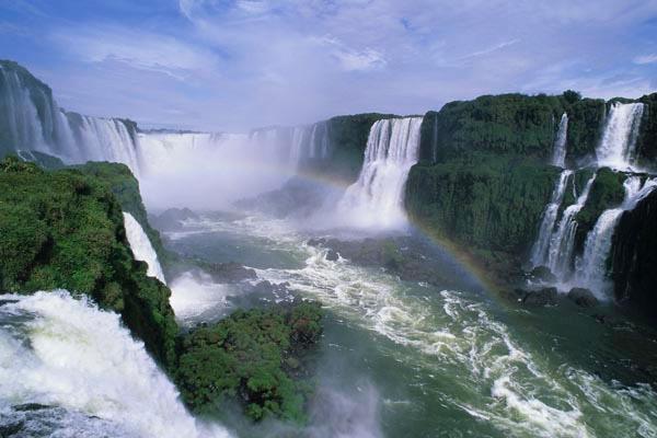 Iguacu Falls plus rainbow