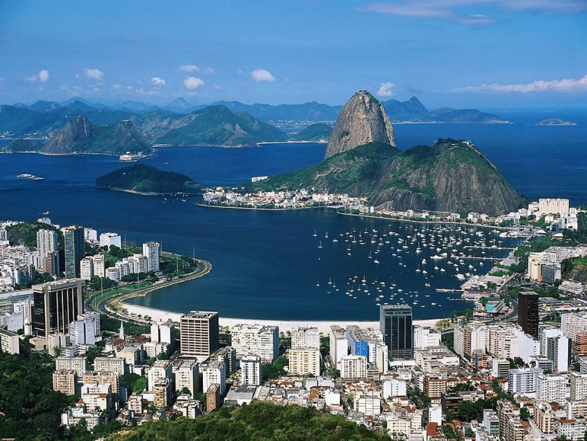 The amazing harbour at Rio