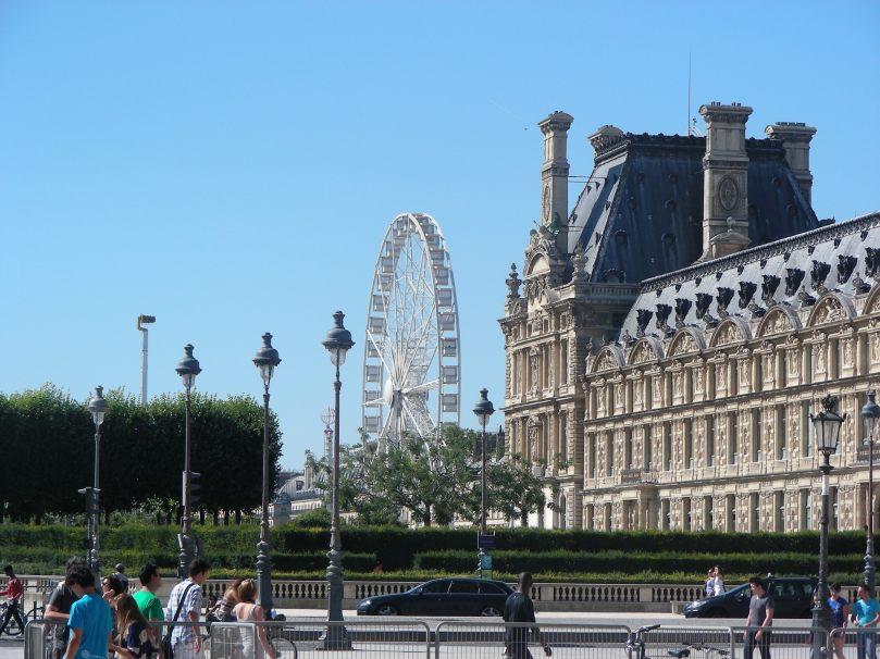 Old meets new in Paris
