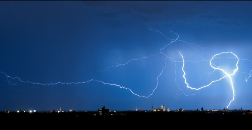 Lightning over Munich