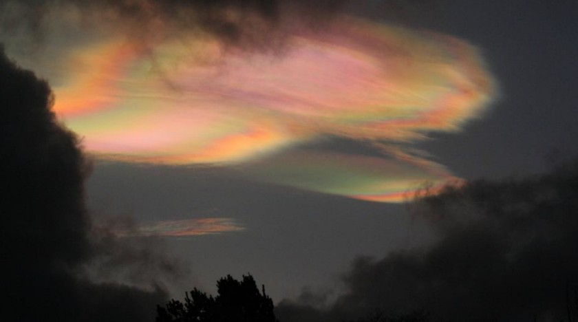 Nacreous clouds, Aberdeen