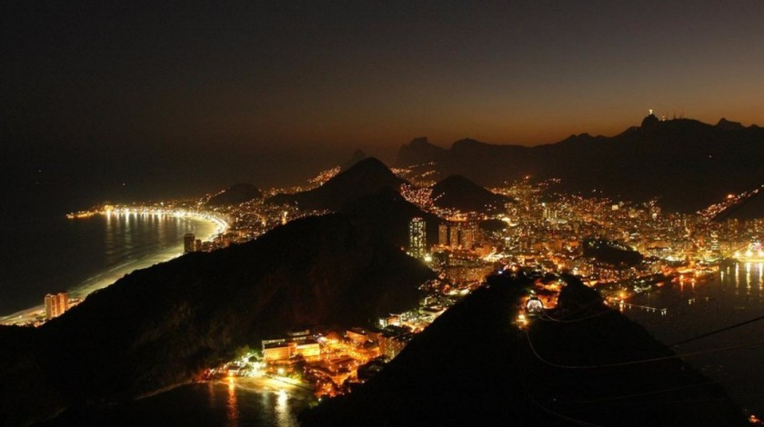 Rio, night view