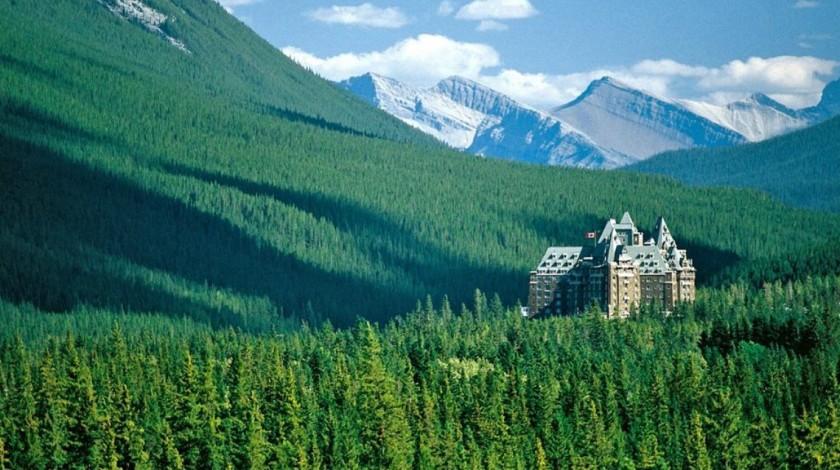Hotel, Banff, Alberta