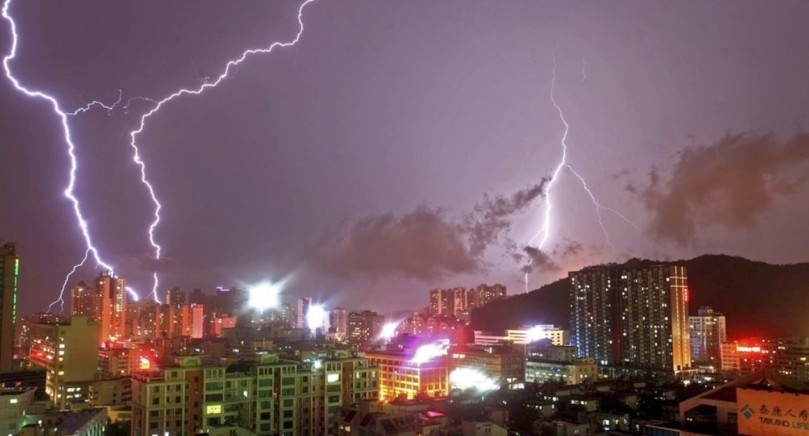 Guangdong lightning