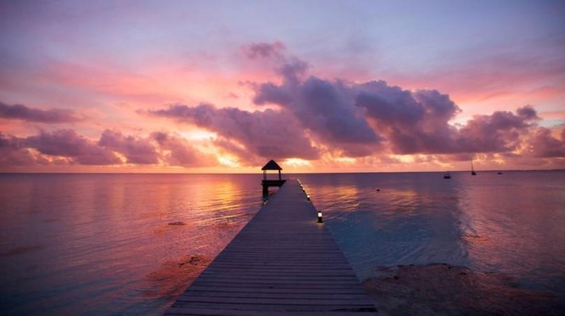 Fakarava sunset