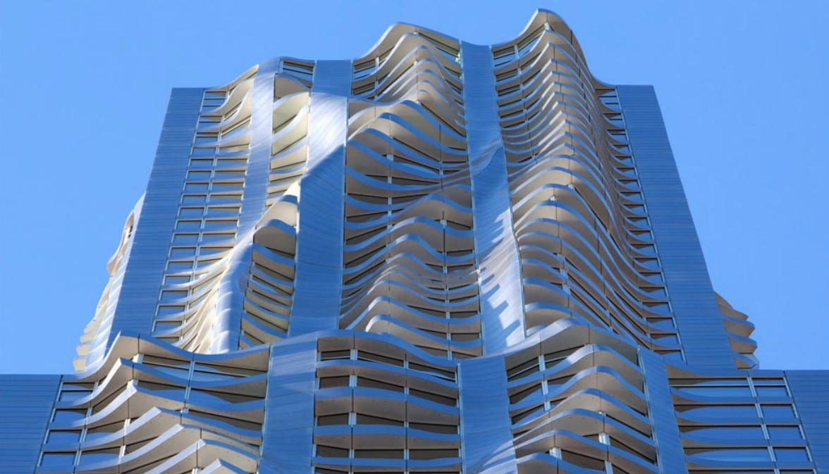 designed by the world famous architect frank gehry it certainly stands out among all the straight sided apartment - Greatest Architect In The World