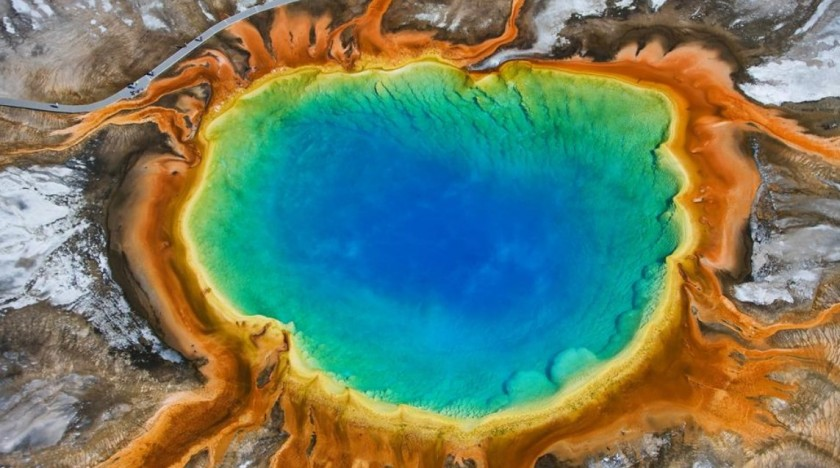 Grand Prismatic, Yellowstone, Wyoming
