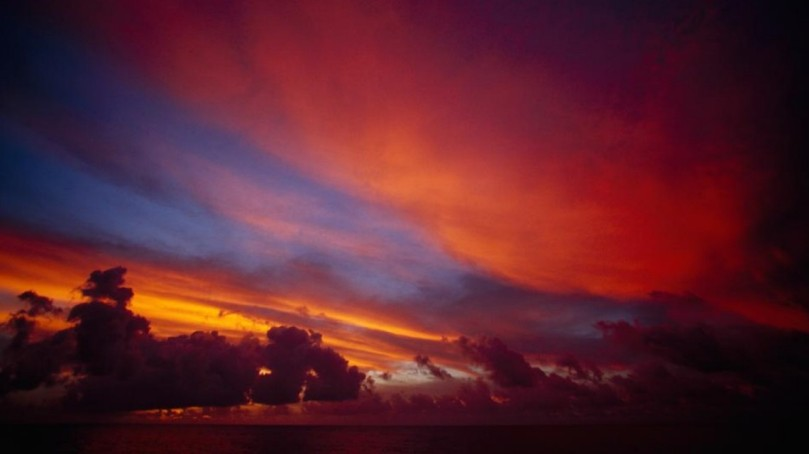 Kiribati sunset