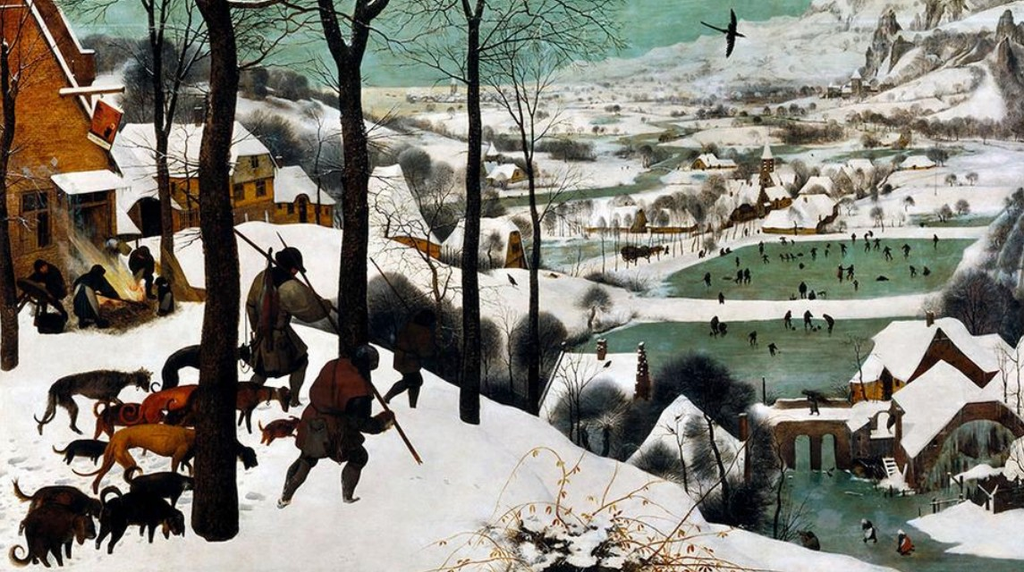 The Hunters in the Snow, Art