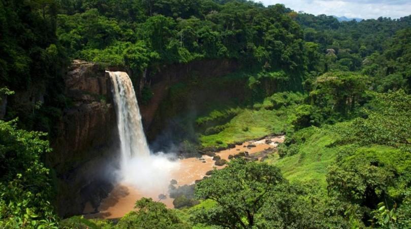 Ekom Nkam Falls, Cameroon