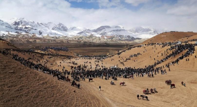 Buzkashi, Bamiyan
